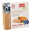 Galletas sin Gluten Rellenas de Crema de Arándanos 200 gr Germinal