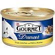 Finas lonchas de pollo al horno Diamant Lata 85 g Purina Gourmet