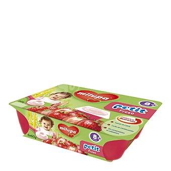 Milupa Petit fresa Pack de 6x60 g