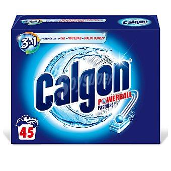 Calgon En 2 1 pastillas 45 uds
