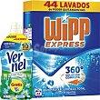Detergente Polvo + suavizante de regalo 44 Dosis Wipp Express