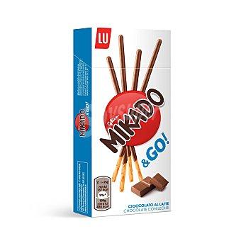 Lu Mikado palitos de galleta recubiertos de chocolate con leche caja 39 gr Caja 39 g
