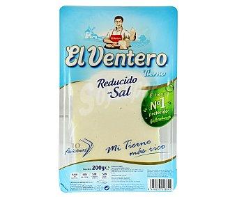 El Ventero Queso tierno bajo en sal Bandeja 200 g