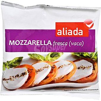 EL CORTE INGLES Mozzarella fresca de vaca envase 125 g