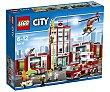 Juego de construcciones con 919 piezas Estación de bomberos, City 60110 1 unidad LEGO