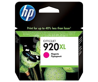 HP Cartuchos de Tinta 920XL Magenta 1 Unidad