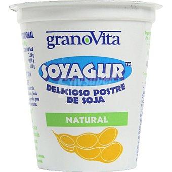 GRANOVITA Soyagur Yogur de soja sabor natural Tarrina 145 g
