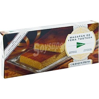 El Corte Inglés Mazapán de yema tostada sin azúcar Tableta 200 g