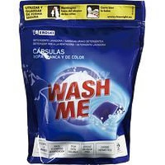 Eroski Detergente en cápsulas Bolsa 20 dosis