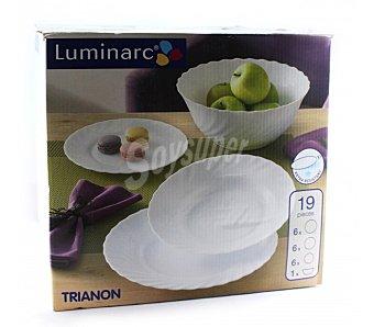 Luminarc Trianon - Vajilla, 19 piezas 1 ud