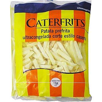 CATERFRITS Patata prefrita corte estilo casero Bolsa 1 kg