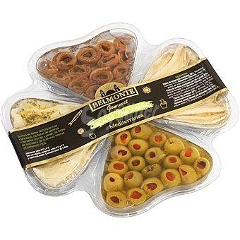 Belmonte Gourmet tapas variadas mediterránea Tarrina 213 g neto escurrido