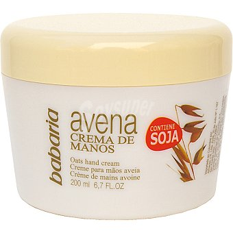 Babaria Crema de manos de avena tarro 200