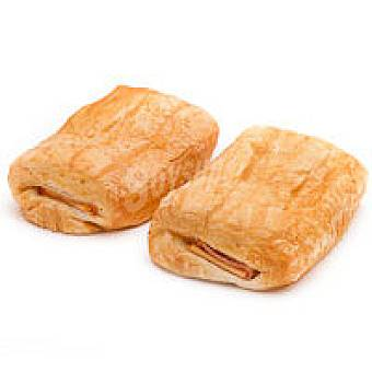 Napolitana de jamón-queso Bandeja 2 unid