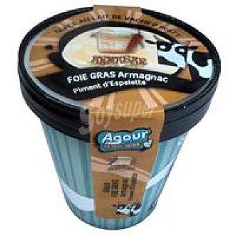 AGOUR Helado de foie-pimentón Tarrina 550 ml