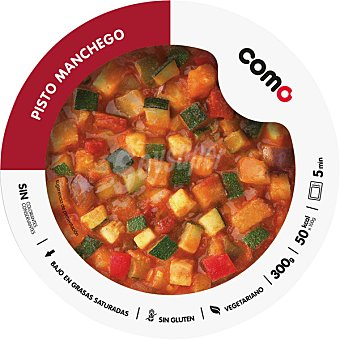 COMO NATURAL pisto de 6 verduras bandeja 300 g