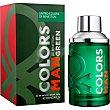 Colors Man Green eau de toilette natural spray 100 ml spray 100 ml Benetton