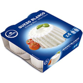Condis Queso fresco Pack 4 250 GRS