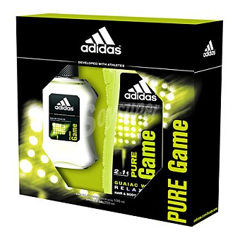 Adidas Estuche colonia Pure Game spray 100 ml. + gel 250 ml. 1 ud