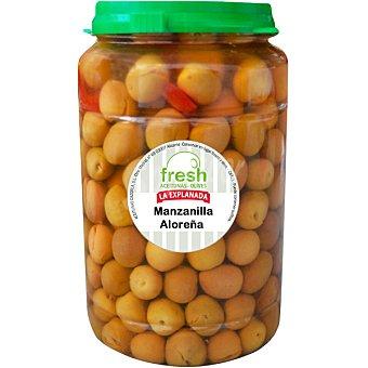 La Explanada Aceitunas manzanilla con hueso variedad Aloreña Envase 800 g