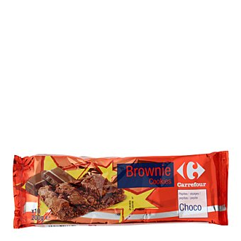 Carrefour Brownie Cookies con trozos de chocolate 200 g