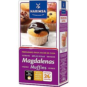 Harimsa Preparado para magdalenas  paquete 500 g