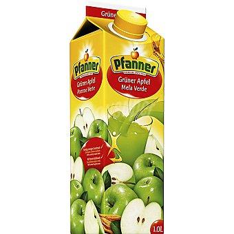 Pfanner Zumo de manzana verde Envase 1 l