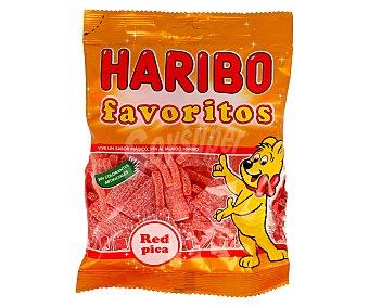 Haribo Surtido de caramelos de goma y mini regalices con azúcar 150 gramos