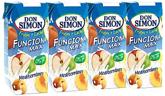 Don Simón Funciona sabor Mediterráneo Pack 3x330 ml