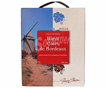 Pierre Chanau Vino Tinto Blaye Cotes de Bordeaux 3 Litros