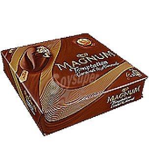 MAGNUM de FRIGO Magnum Temptation de caramelo Pack de 3x80 ml