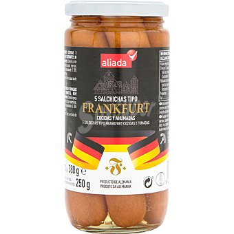 HOCHWALD Salchichas bockwurst  5 unidades (250 g)  neto escurrido