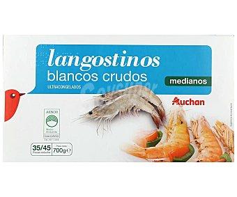 PRODUCTO ALCAMPO Langostinos crudos medianos 35/45 ultracongelados auchan (p.n) 700 g