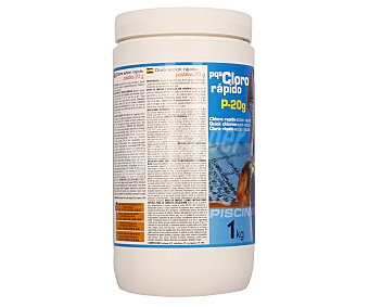 Pqs Cloro granulado de acción y disolución muy rápidas en tabletas de 20 G 1 kg