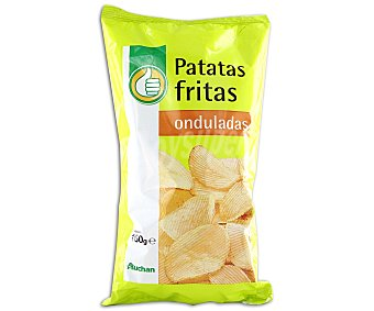 Productos Económicos Alcampo Patatas fritas onduladas 160 gramos