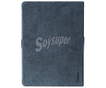 """QILIVE Q.9090 Funda con tapa para tablet Qilive 10,1"""" ( modelo Q.3253) Gris, permite la colocación en forma de stand, (tablet no incluido)"""