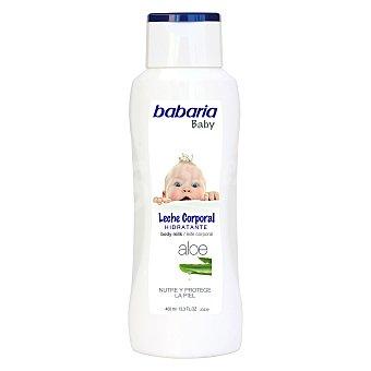 Babaria Leche corporal hidratante con aloe baby Bote 400 ml