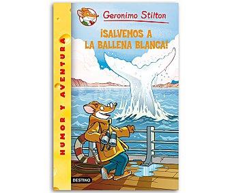 LA BALLENA Gerónimo Stilton 40: Salvemos a la ballena blanca, vv.aa, género: infantil, juvenil. Editorial: Destino. Descuento ya incluido en pvp. PVP anterior: 40: Salvemos..