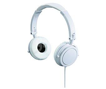 QILIVE DJ TM1139 Auriculares tipo Casco Blanco, con cable
