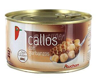 Auchan Callos con garbanzos Lata de 380 g