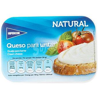 Hipercor Queso para untar natural Envase 200 g