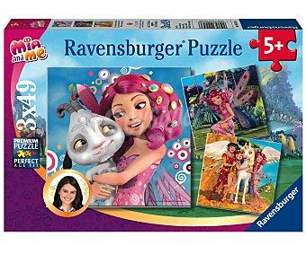 Ravensburger 3 Puzzles Infantiles de 49 Piezas 1 Unidad