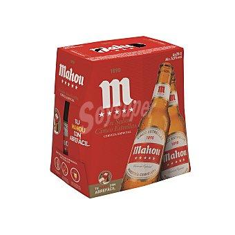 Mahou Cerveza 5 estrellas Pack 6x25 cl