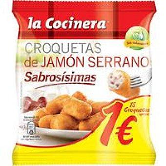 La Cocinera Croquetas Jamón Serrano Sabrosísimas 250g