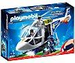 Escenario de juego Helicóptero de policía con luces led, incluye 2 figuras City Action 6921 playmobil  Playmobil