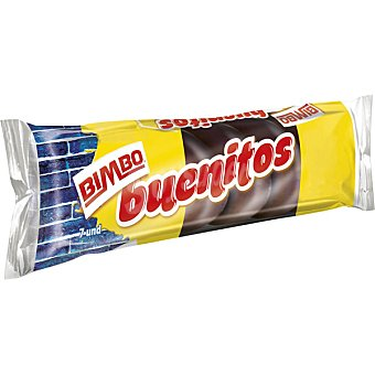 BIMBO Buenitos Pastelitos con chocolate Estuche 130 g