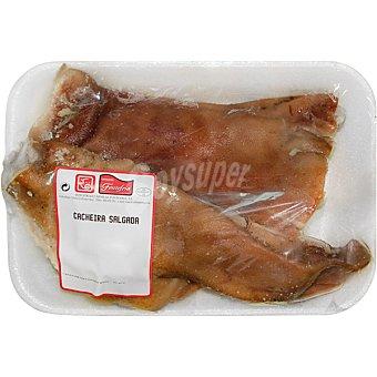 FONTEFRIA Cerdo cabeza salada peso aproximado Bandeja 1 kg