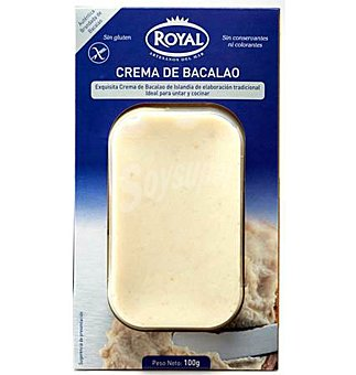 Royal Crema bacalao 100 g