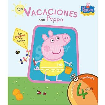 PEPPA PIG Cuaderno de vacaciones con 4 años